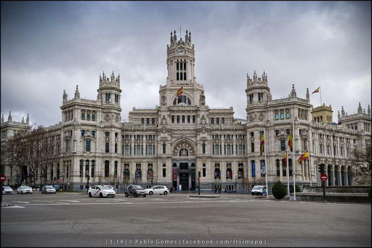 Palácio das Comunicações / Palacio de Comunicaciones / Palace of Communication [2014 - Madrid - Espanha / España / Spain] #fotografia #fotografias #photography #foto #fotos #photo #photos #local #locais #locals #cidade #cidades #ciudad #ciudades #city #cities #europa #europe #turismo #tourism #arquitectura #architecture