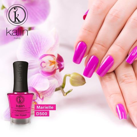"""Soft as an orchid, """" Marielle D500 """" reflects the sweetness in you."""