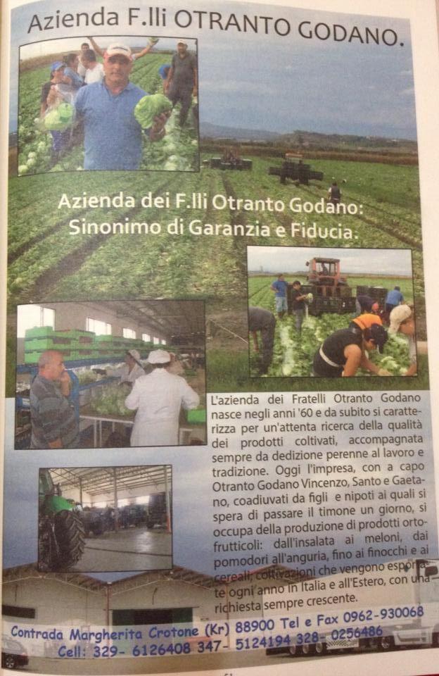 Azienda Otranto Godano #Crotone #qualità #tradizione