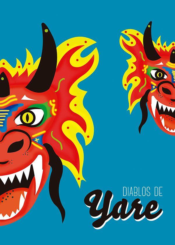 Diablos de Yare by Astrid Margarita, via Behance
