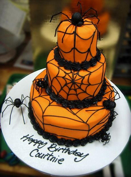 Best 25 Halloween Birthday Cakes Ideas On Pinterest