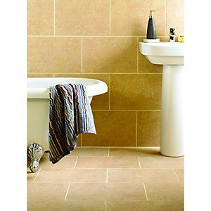 Wickes Capri Caramel Matt Porcelain Wall Amp Floor Tile