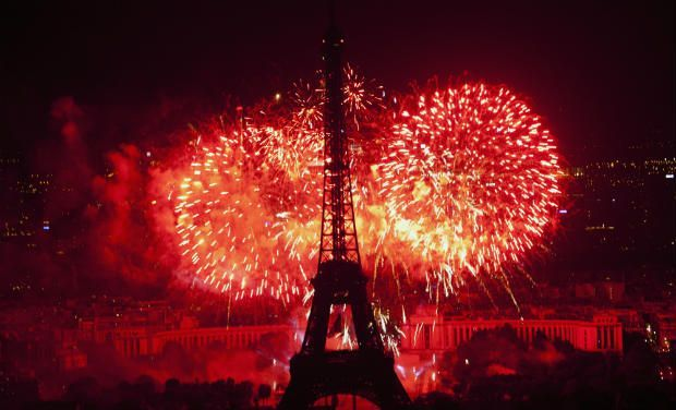 bastille day in france fireworks