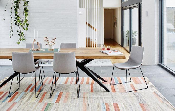 GlobeWest - Shelter Mod Dining Tables