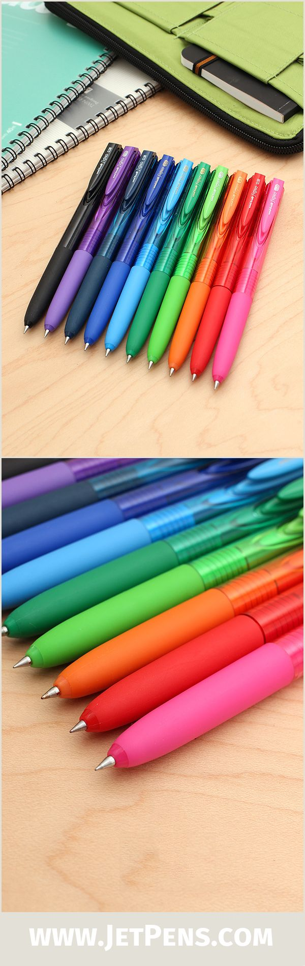 The popular Signo RT1 UMN-155 Gel Pen is now available in a wider 0.5 mm size that provides smooth, consistent writing!