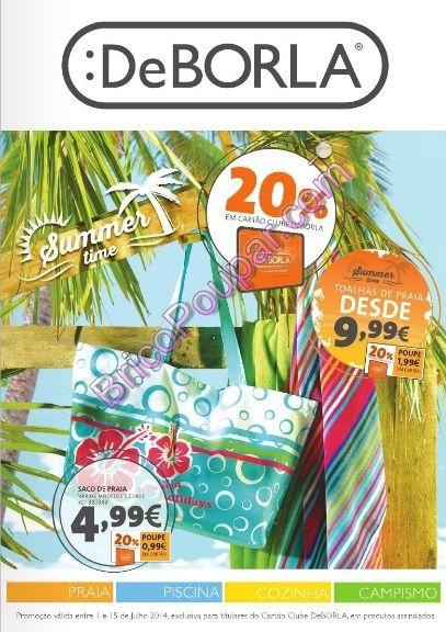 Antevisão Novo Folheto Promoções De Borla - Summer Time - de 1 a 15 de julho