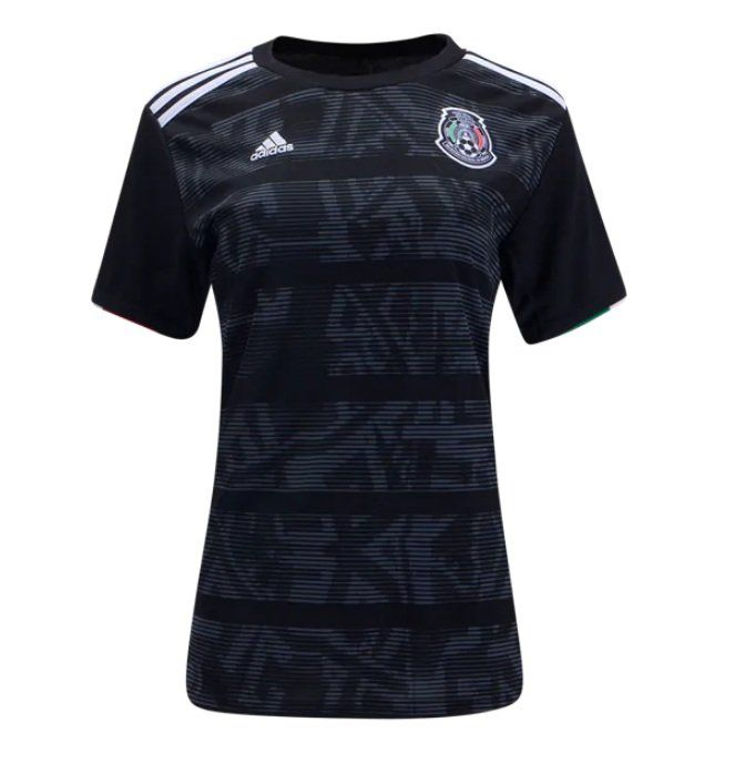 Women Mexico Home Soccer Jersey Black 2019 2020 Futball Gerrard Goalkeeper Goalkeepers Goalscorer Golazo Groundhoppe Soccer Jersey Womens Soccer Jersey