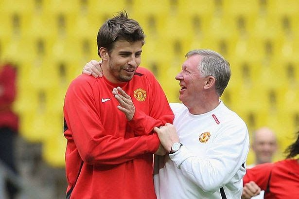The Three Reasons That Saw Gerard Pique Leave Manchester Gerard Pique Was Letting Him Go A In 2020 Gerard Pique Manchester United Players Manchester United Champions