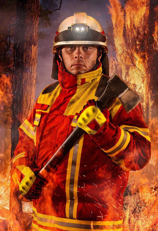 Firefighter   Digital Art   Michael Stifter