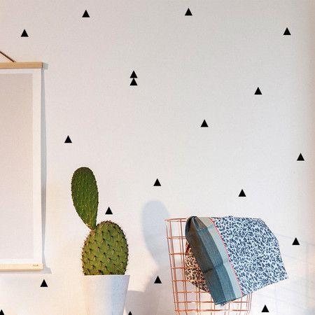 Kit - Triângulos - Pequenas Causas - Adesivos de Parede Criativos