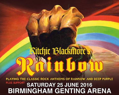 RITCHIE BLACKMORE'S RAINBOW have announced an exclusive UK gig for Birmingham in June 2016 - his first rock gig in 20 years! The gig is part of just four European dates planned for 2016. Tickets on sale Friday 6th Nov --> http://www.allgigs.co.uk/click/ritchieblackmores-rainbow/