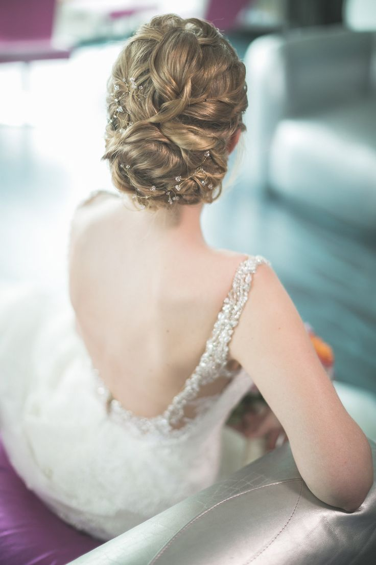65 best Bridal styling images on Pinterest   Up dos, Bridal style ...