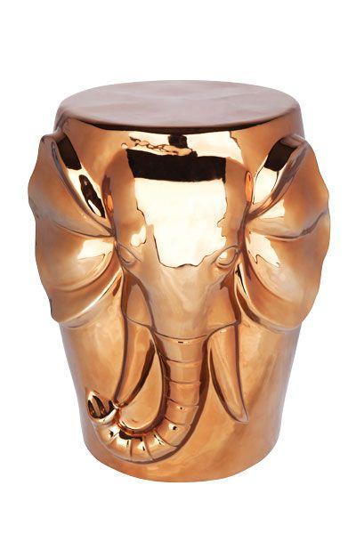 Bronze elephant stand from Risenn.