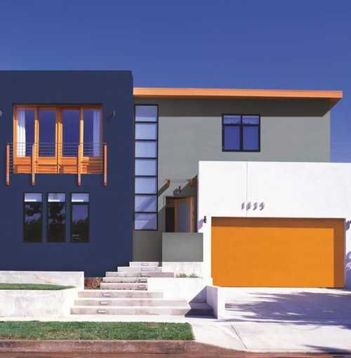 VITAMIN color combination by ISOMAT will give your house a contemporary look.