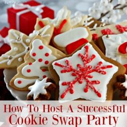 Host a girl's night in and plan the ultimate cookie swap party! Our swap is loaded with ideas on how best to plan and share all the delicious cookies and recipes with your friends. Don't miss a detail - Grab the planning printable too!