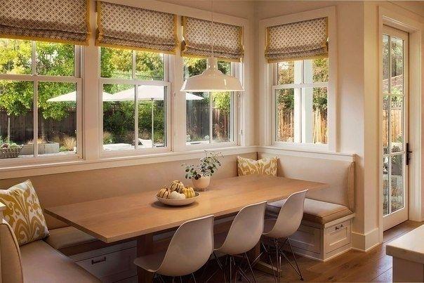 Esszimmer mit Eckbank Küche/Essen Pinterest Transitional decor - esszimmer modern gemutlich