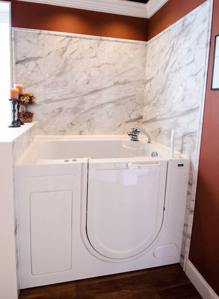 Oversized Tub Handicap Accessible Wlak In Bathtub Grab Bars Universal Design