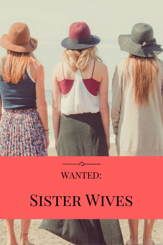 Wanted: Sister Wives How great would another set of hands (and eyes) be? #momlife #parenting http://blog.parentlifenetwork.com/sister-wives-wanted/