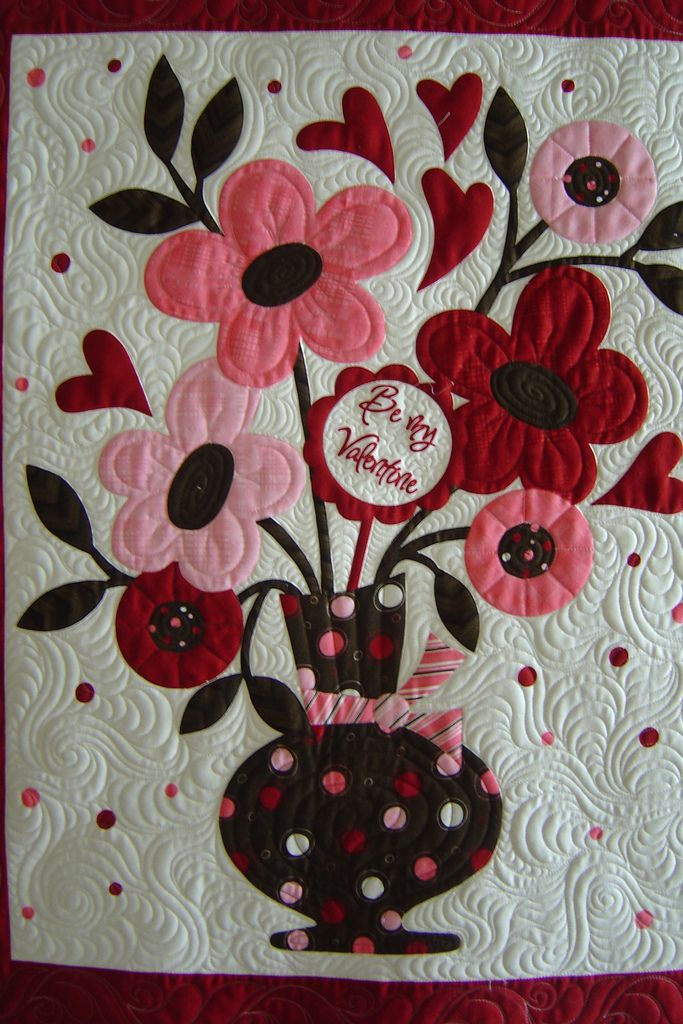 Valentine | Quilted by Jessica's Quilting Studio | Jessica Gamez | Flickr