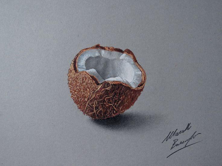 Coconut drawing by marcellobarenghi.deviantart.com on @deviantART