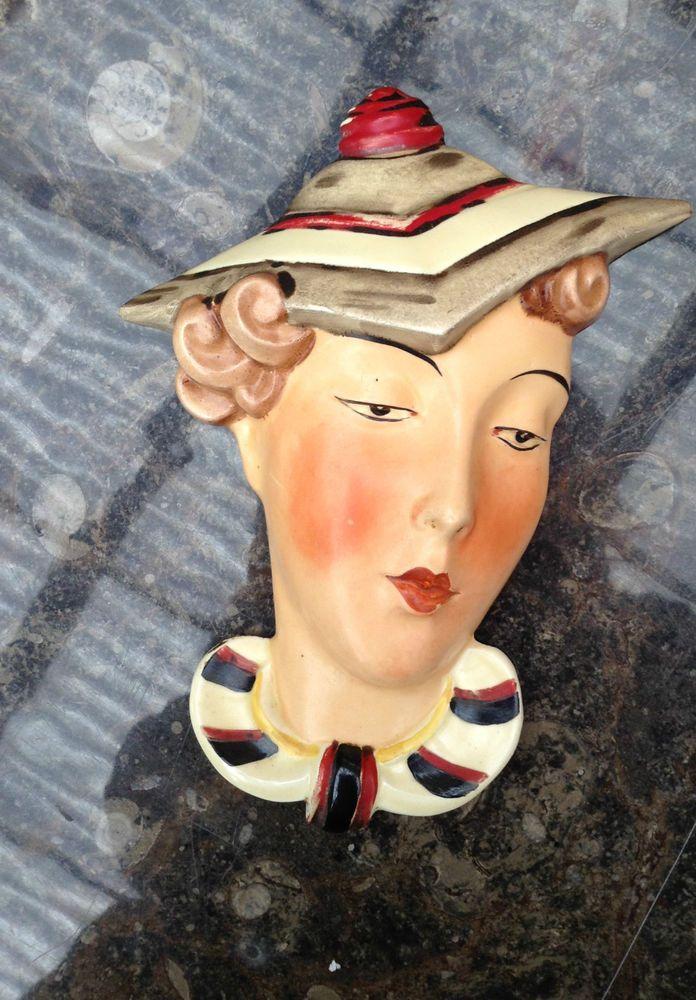 567 best Art Deco Wall Masks (1920\'s-1950\'s) images on Pinterest ...