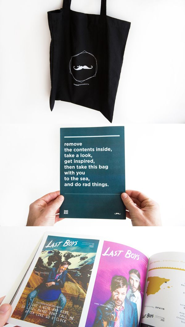Printed Graphic Design Portfolio Example   Kyle Diorio