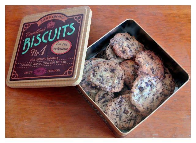 Cookies con cioccolato ~ Live, love and laugh