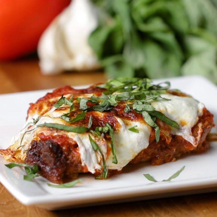 The Best Crispy Chicken Parmesan Recipe by Tasty