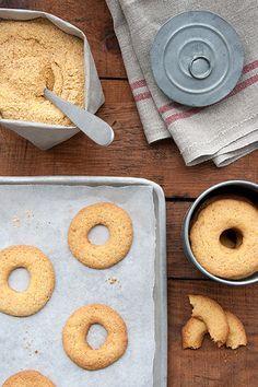 Biscotti rustici di farina di mais