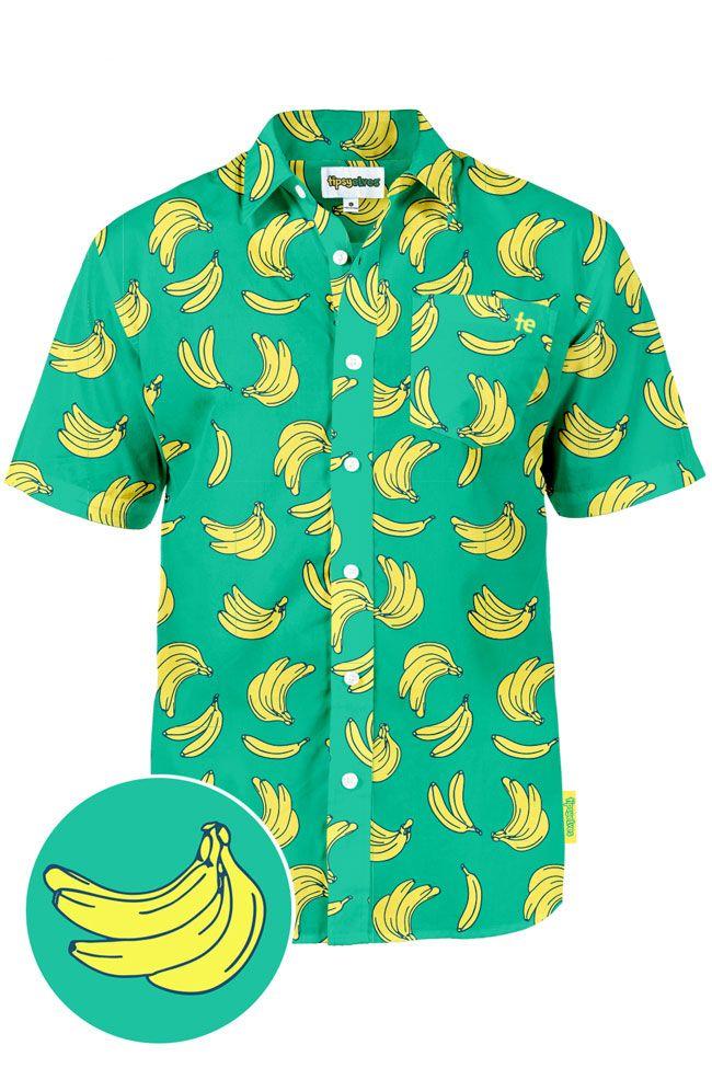93f01d17663 Men s Havana Banana Hawaiian Shirt