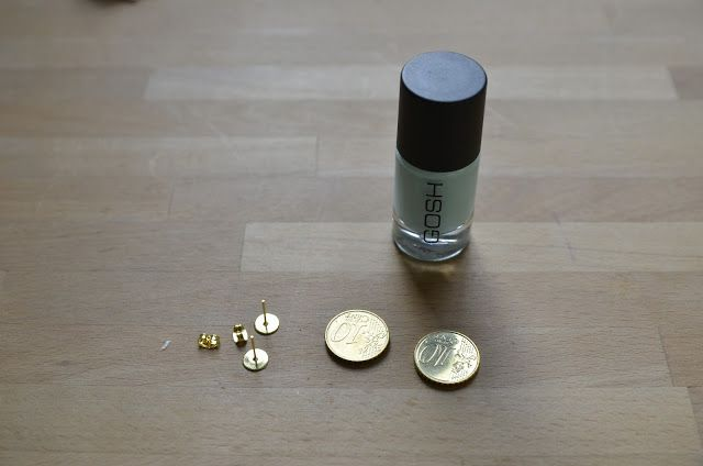 Juwelen maken van centjes en nagellak