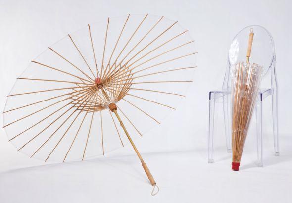 世界初の土に還る和傘のような傘「Brelli」