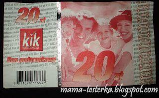 mama-testerka: Loteria w sklepie KIK i bon podarunkowy...