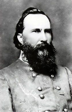 """Confederate General James Longstreet. Lee's right hand man, especially after the loss of """"Stonewall"""" Jackson. Lee called him my """"Old War Horse"""" but Longstreet strongly disagreed with Lee about Pickett's charge at Gettysburg and after the war criticized Lee for the decision. Longstreet was never forgiven in the South for criticizing Robert E. Lee."""