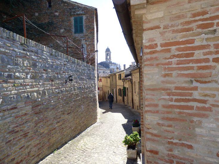 Walking down to PORTA DELLA CROCE, cross gate.