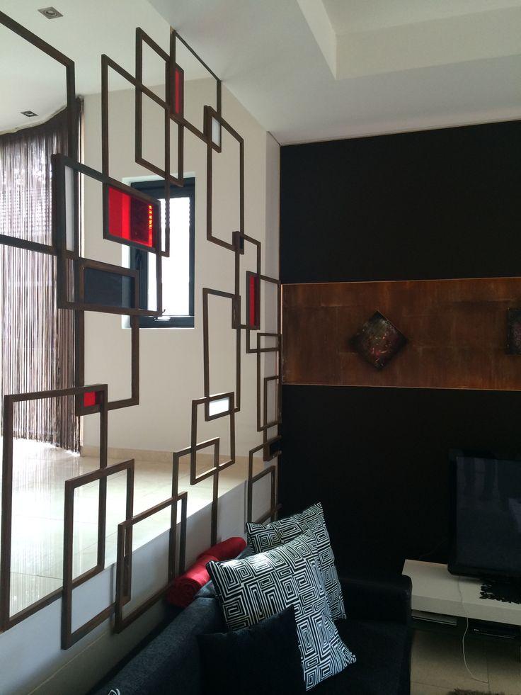 Interior architecture  Wall divider