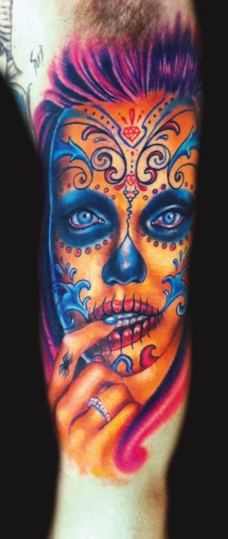 Day of the Dead Tattoos - Inked Magazine Photos