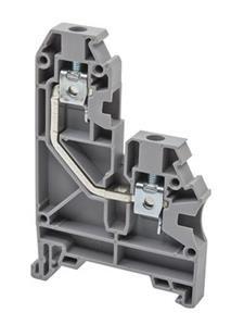 Electrical terminal,screw type,universal terminal block,Insulation material PA,Beige