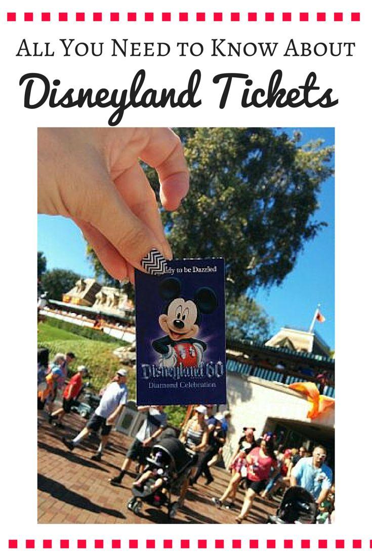 Disneyland deals for tickets