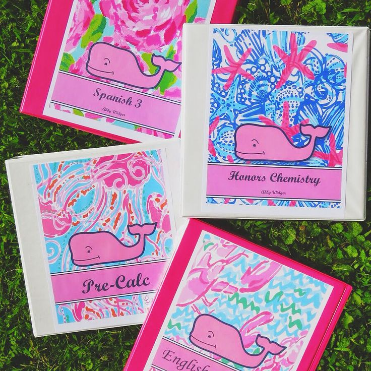 DIY Preppy Binder Covers (Back To School Series) (Belle Of