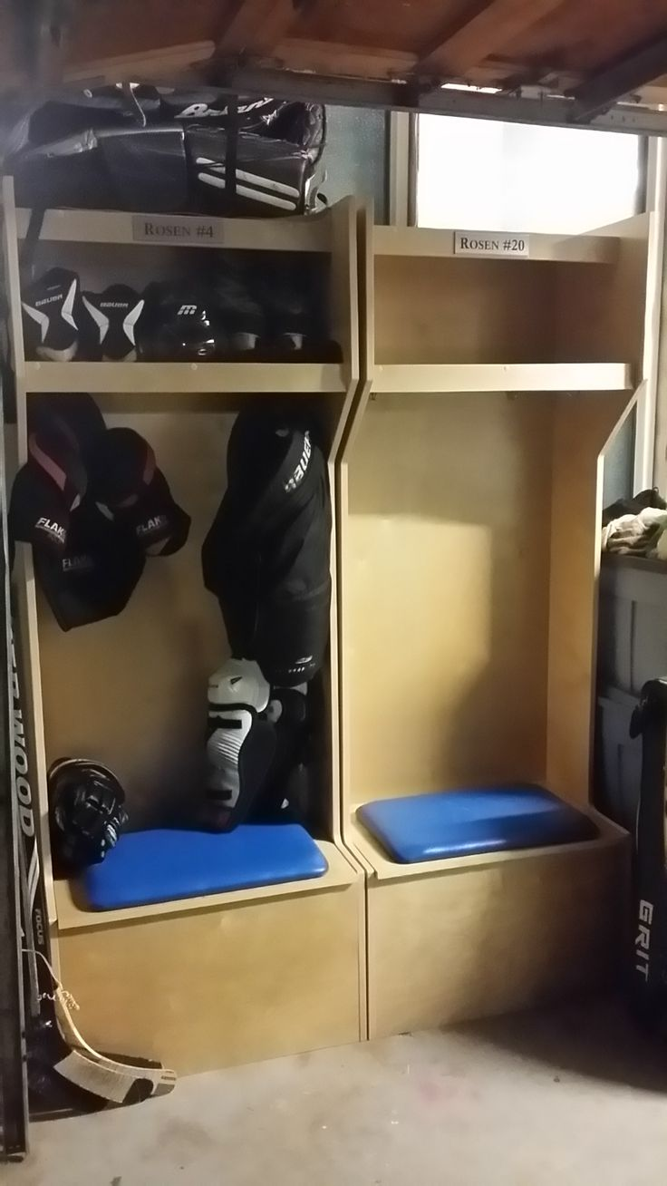 Sports locker from PlayerStall. customsportslockers.com