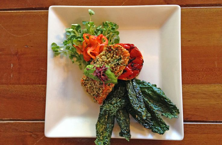 Good for the Heart, Good for the Soul: Tri-Color Quinoa Stack with ...