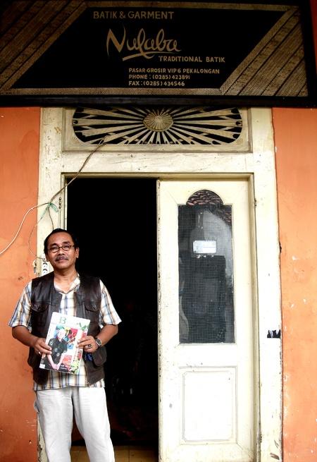 @gtokman Nulaba Batik courtesy Emilia Tan ( Malaysia )