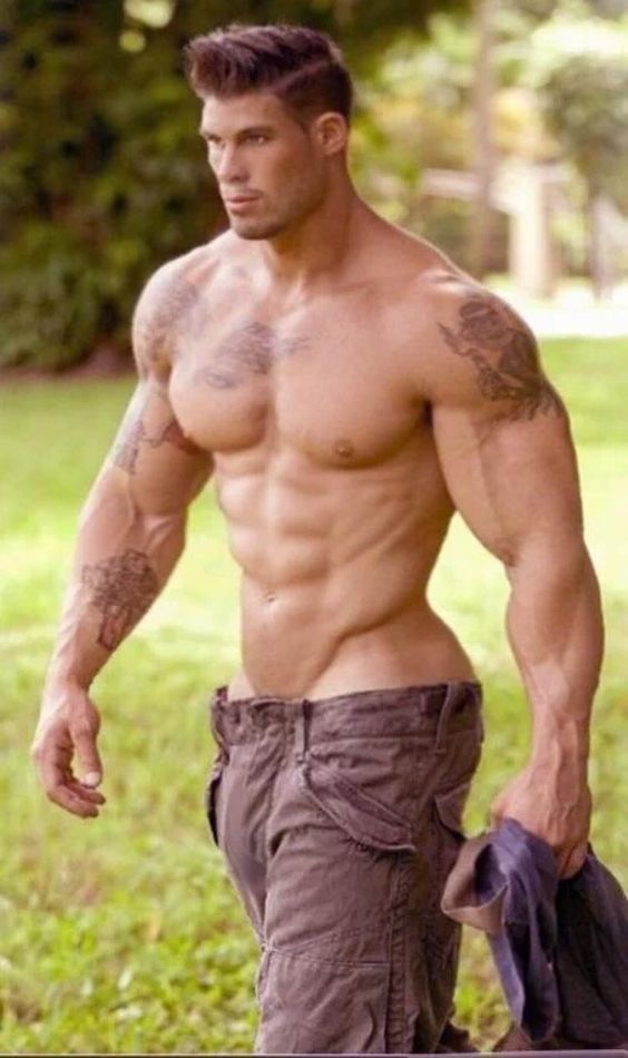 Gay man becoming muscular