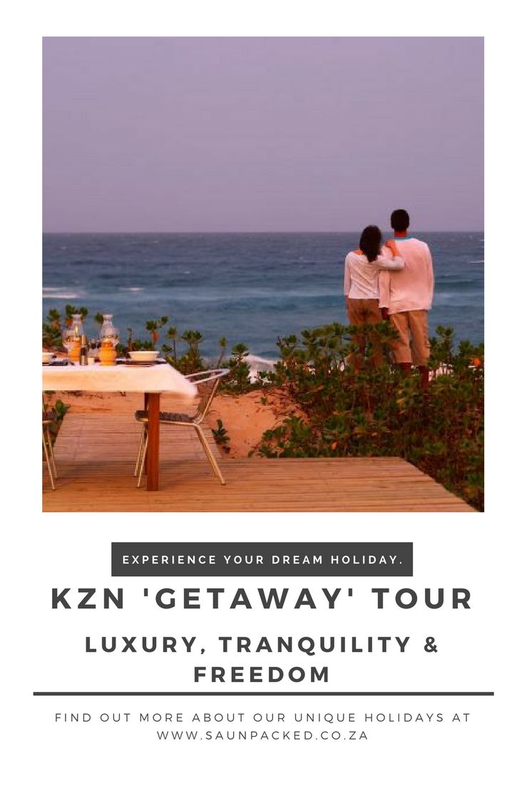 This is the ultimate luxury 'Getaway' tour. Experience tranquility, freedom & space with this South African hoilday