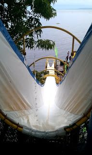 Long Slide to the beach!! in Davao City, Philippines!