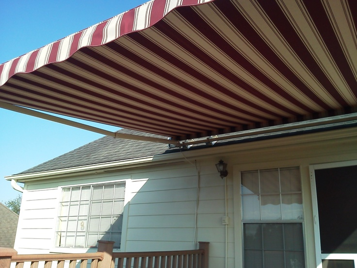 Motorized Sunsetter Retractable Awning 14 Xl Model Woven
