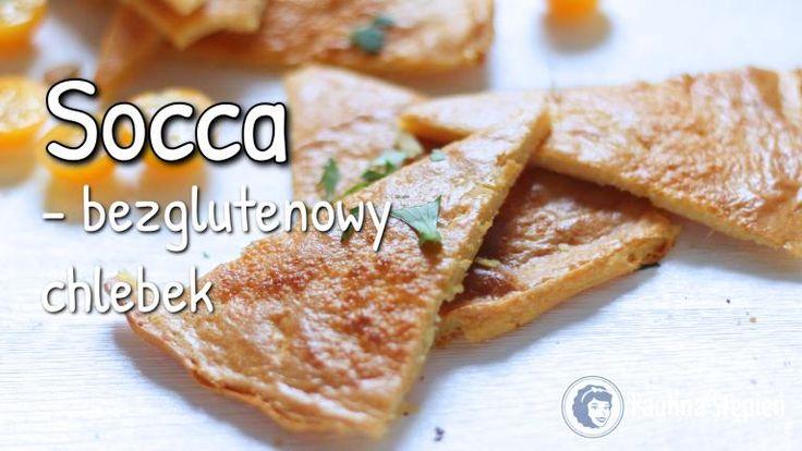 Socca – bezglutenowy nicejski chleb