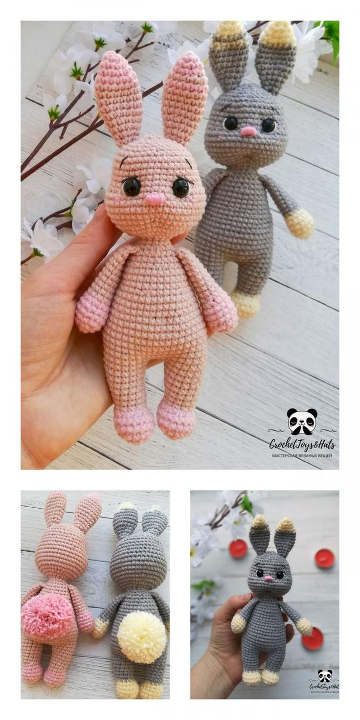 Amigurumi Mimi the Bunny in Hat Free Pattern – Free Amigurumi ...