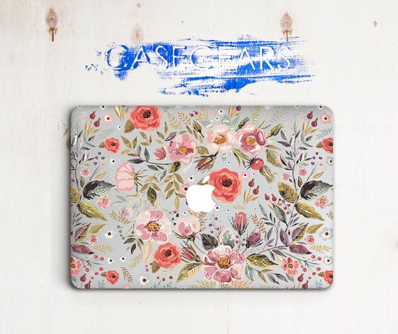 Macbook Air 13 Hard Flower Laptop Floral Macbook Pro by CaseGears